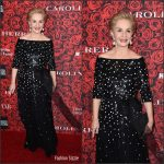 "Carolina Herrera   At ""An Evening Honoring Carolina Herrera"" Event"