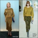 "Cate Blanchett  In Louis Vuitton At "" Pedro Almodovar"" Retrospective Moma Opening Night"