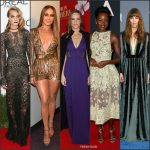 Celebrities Wearing Elie Saab In 2016