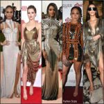 Celebrities wearing Balmain in 2016