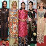 Celebrities Wearing Dolce & Gabbana In 2016