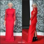 Dame Helen Mirren  In Jacques Azagury At  Collateral Beauty   London Premiere
