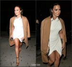 Demi Lovato In Alexander Wang At The  Philymack Holiday Party In LA