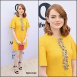 Emma Stone In Giambattista Valli  At The Hollywood Reporter's 25th Annual Women In Entertainment Breakfast