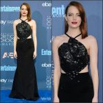 Emma Stone  In Roland Mouret  At The 2016  Critics Choice Awards