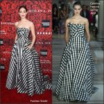 "Emmy Rossum In Carolina Herrera  At ""An Evening Honoring Carolina Herrera"" Event"