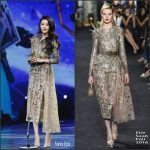 Fan Bingbing  In Elie Saab At The  2016 Youku Y Choice Awards
