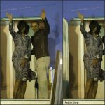 First Lady Michelle Obama In Tory Burch  Leaving Argentina