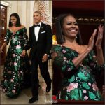 FLOTUS Michelle Obama  In Gucci  At  The 2016 Kennedy Center Honors