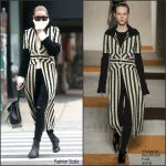 Gigi Hadid  In Victoria Beckham Out In New York