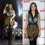 Hailee Steinfeld  In Dsquared2  Performing  AT Y100'S IHeartRadio 2016 Jingle Ball