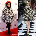 Janelle  Monae  In Dolce  & Gabbana  At The 'Hidden Figures ' Washington , DC Screening