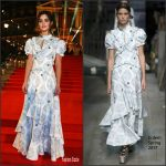 Jenna Coleman in Erdem at the 2016  Fashion Awards