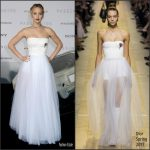 Jennifer Lawrence  In Christian Dior At Passengers LA Premiere
