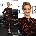 Jennifer Lawrence  In Proenza Schouler  At The Passengers London  Photocall