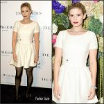 Kate Mara  In Christian Dior At De Beers Flagship Store Opening In New York
