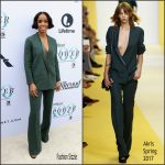 Kelly Rowland  In Akris  At  The Hollywood Reporter's 25th Annual Women In Entertainment Breakfast