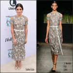 Lea Michele  In J. Mendel At The Hollywood Reporter's 25th Annual Women In Entertainment Breakfast
