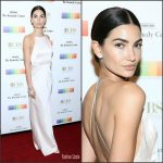 Lily Aldridge  In Jason Wu At The   2016 Kennedy Center Honors