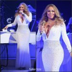 "Mariah Carey  In Uel Camilo At  ""All I Want For Christmas Is You"" Concert  in New York"