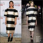 Marion Cotillard in Dries Van Noten at the 'Assassin's Creed' Paris Photocall