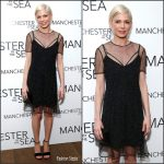 "Michelle Williams In Louis Vuitton At The ""Manchester By The Sea"" New York Special Screening"