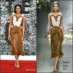 Naomie Harris   In Rodarte  At The Collateral Beauty  London Premiere