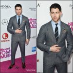 Nick Jonas  In Etro At The  2016 Billboard Women In Music Event