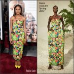 Naomie Harris  In Rosie Assoulin  At The  Collateral Beauty World New York  Premiere