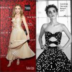 "Peyton List  In Carolina Herrera  At ""An Evening Honoring Carolina Herrera"" Event"