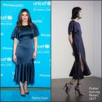 Priyanka Chopra  In Prabal Gurung At UNICEF'S 70th Anniversary Event