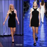 Reese Witherspoon In Mugler On Tonight Show Starring Jimmy Fallon