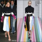 Rita Ora  In Salvatore Ferragamo At Grey Goose  Holiday Market At Le Marché Bleu Pop Up Shop In NY