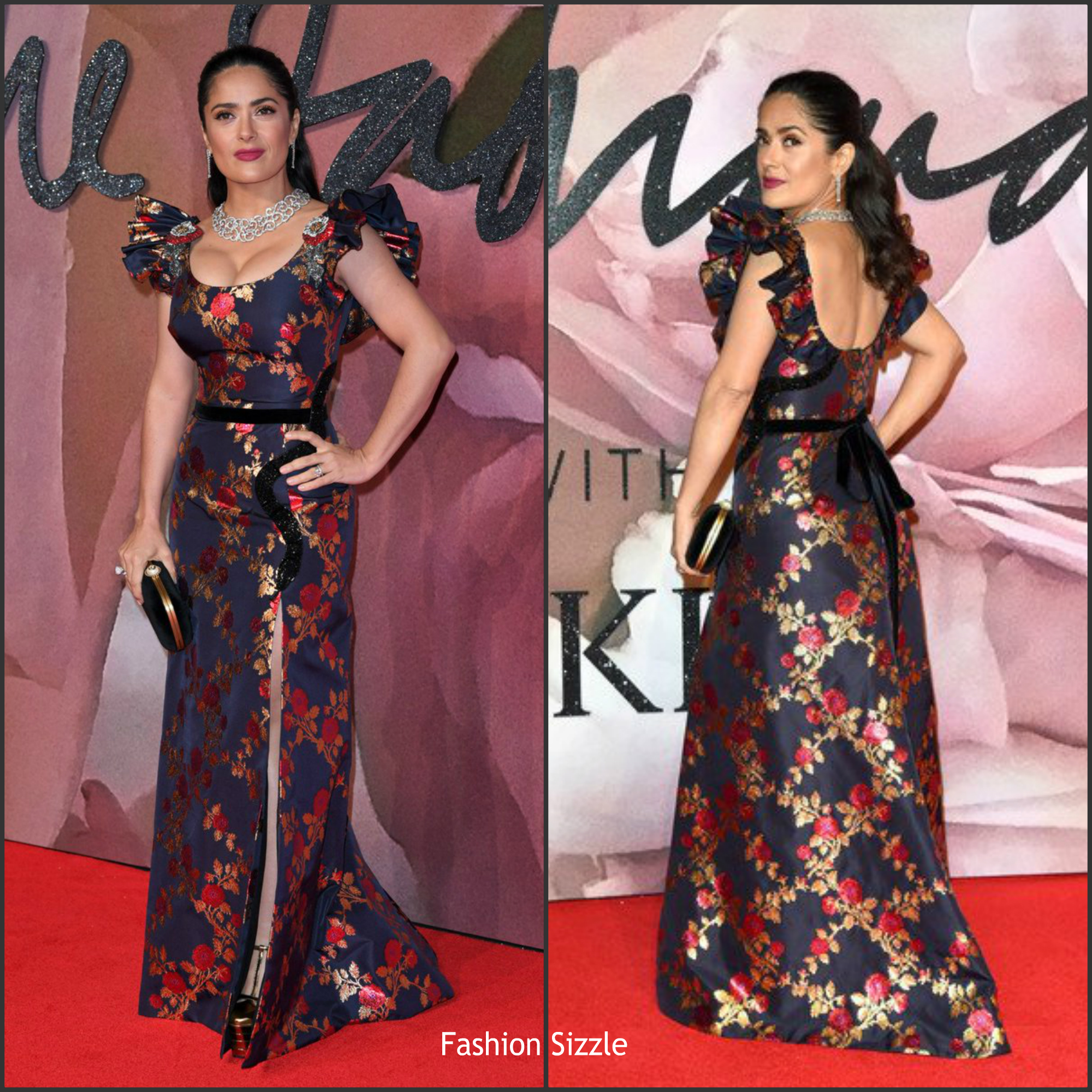 salma-hayek-in-gucci-at-the-2016-british-fashion-awards