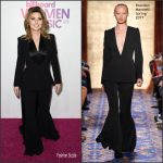 Shania Twain In Brandon Maxwell  At The  2016 Billboard Women In Music Event