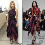 Sienna Miller  In Proenza Schouler At Live By Night LA Press Conference