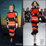Sienna Miller  In Proenza Schouler At The Live By Night New York Screening