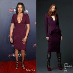 Taraji P. Henson  In Greta Constantine  At The CNN Heroes Tribute Gala in New York
