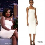 Viola Davis  In Cinq à Sept On The Tonight Show With Jimmy Fallon