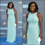 Viola Davis  In Michael Kors At The 2016  Critics Choice Awards