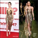 Zoey Deutch  In  Balmain At The Why Him LA  Premiere