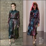 Zoey Deutch  In Marc Jacobs At The Hearst 100 Luncheon in New York