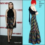 Zoey Deutch  In Mary Katrantzou  At The Why Him New York  Screening