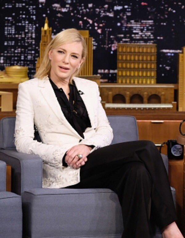 Tonight Show Cate Blanchett Date