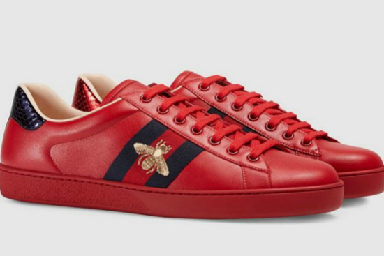 3c853dc9e Gucci Ace Sneakers from Cruise 2017 - Fashionsizzle