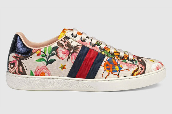 Gucci Ace Sneakers From Cruise 2017 FASHION SIZZLE