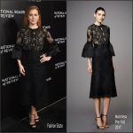 Amy Adams  In Marchesa At The  National Board Of Review Gala In New York