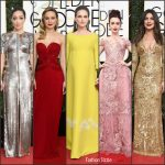 Best Dressed  Celebrities At The  Golden Globe  Awards 2017