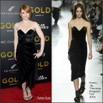 Bryce Dallas Howard  In Preen by Thornton Bregazzi  At Gold New York Premiere
