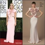 Carrie Underwood  In  Iris Serban At 2017 Golden Globe Awards